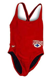 Lifeguard Female One Piece Swimsuit Pool Operation
