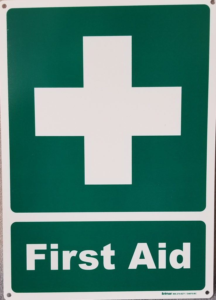 First Aid Sign Pool Operation Management